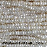 3519 center drilled pearl 2mm white color